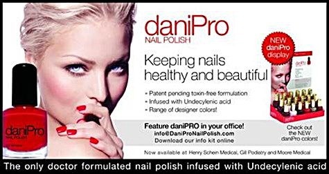 DaniPro anti fungal polish