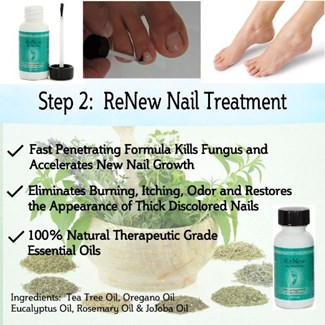the Purely Northwest toenail fungus system 2