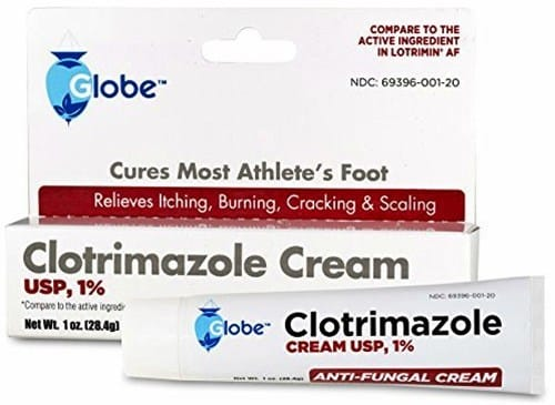 Clotrimazole cream for toenail fungus