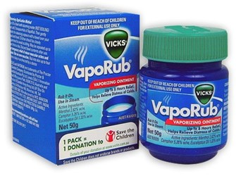 Image result for vapor rub