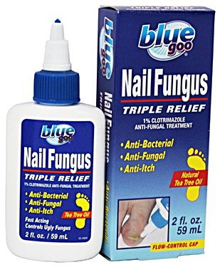 Blue Goo Nail Fungus Triple Relief