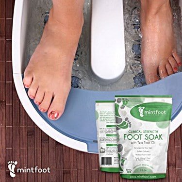 Mintfoot Clinical Strength Foot Soak Review