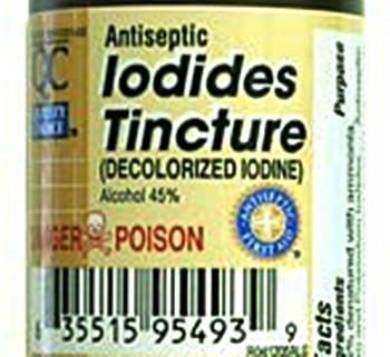 Will White Iodine Get Rid Of Toenail Fungus