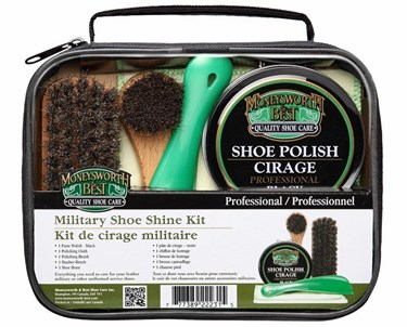 Moneysworth & Best Military Shoe Shine Kit Review