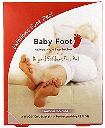 Baby Foot Exfoliant Foot Peel Review