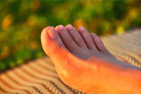 keratin buildup under toenails